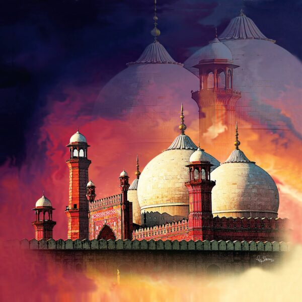 Badshahi Masjid available at SA Art & Designs
