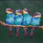Birds painting by SA Art & Designs