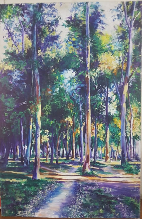 Landscape Painting by SA Art & Designs